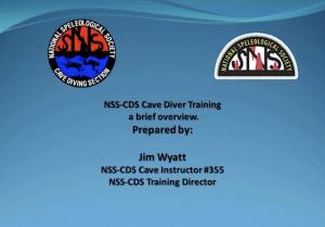 Cave Diver Training Webinar