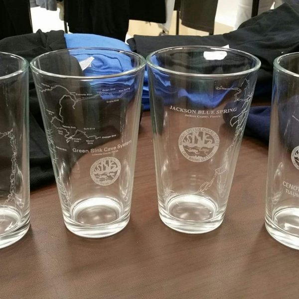 2017 Map Pint Glass Set (Limited Edition – Laser Etched)