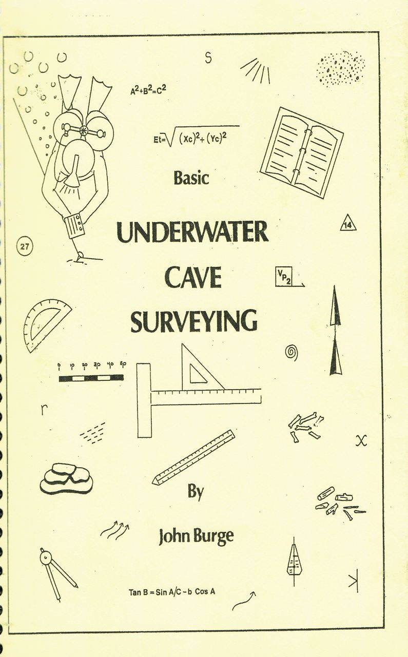 Book - Underwater Cave Surveying