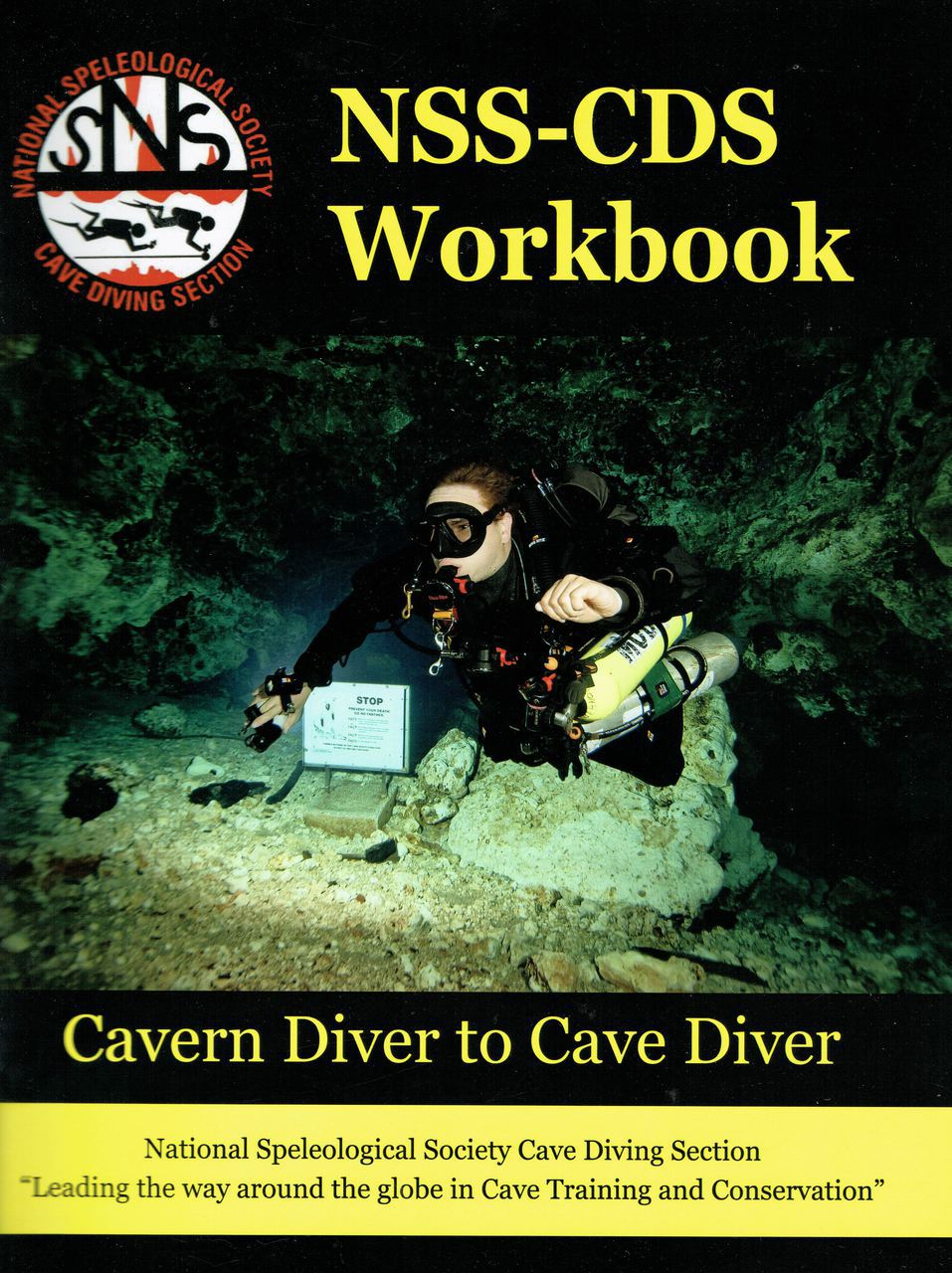 Book - Student Workbook: Cavern Diver to Cave Diver - NSS CDS